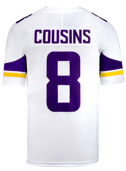 best website fd266 6fdf7 Nike Limited Away Kirk Cousins Jersey | Men's Vikings Apparel | Vikings  Locker Room