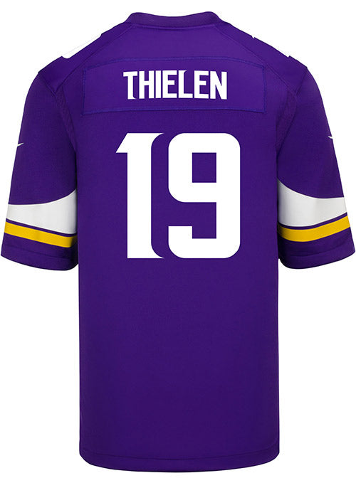 Men's Minnesota Vikings Adam Thielen Nike Purple Game Jersey