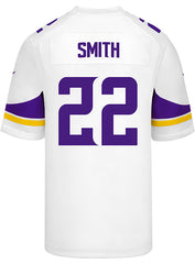 Men's Minnesota Vikings Harrison Smith Nike White Game Jersey