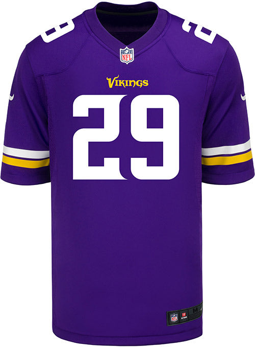 54bb97370be3 Men s Minnesota Vikings Xavier Rhodes Nike Purple Game Jersey ...