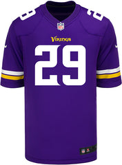 d5ba314a1 Men s Minnesota Vikings Xavier Rhodes Nike Purple Game Jersey ...