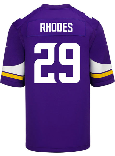 Men's Minnesota Vikings Xavier Rhodes Nike Purple Game Jersey