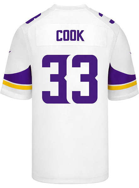 Men's Minnesota Vikings Dalvin Cook Nike White Game Jersey