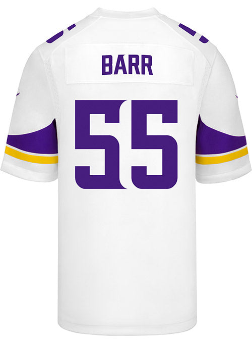 Men's Minnesota Vikings Anthony Barr Nike White Game Jersey