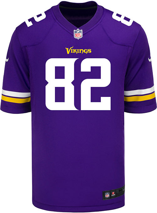 Men's Minnesota Vikings Kyle Rudolph Nike Purple Game Jersey