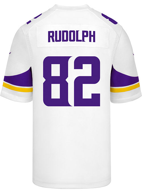 Men's Minnesota Vikings Kyle Rudolph Nike White Game Jersey