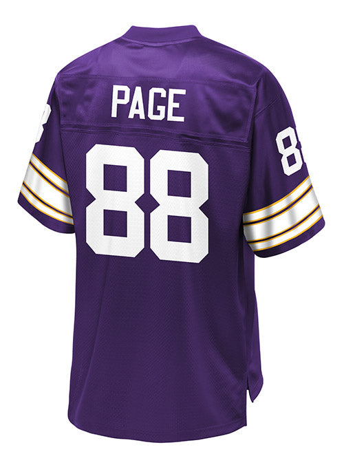 new concept 8f440 3edf4 NFL Pro Line Alan Page Jersey | Vikings Game Jerseys | Vikings Locker Room