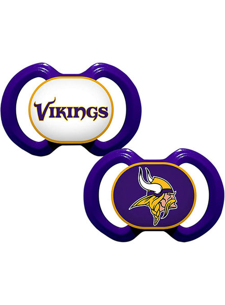 Vikings Pacifier 2-pack | Kids Vikings Apparel | Vikings Locker Room