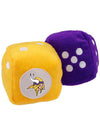 Vikings Fuzzy Dice