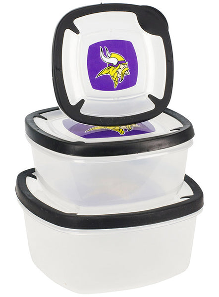 Vikings Plastic Storage Containers