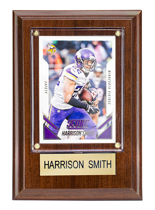 Minnesota Vikings Harrison Smith Plaque