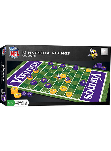 Vikings Checkers