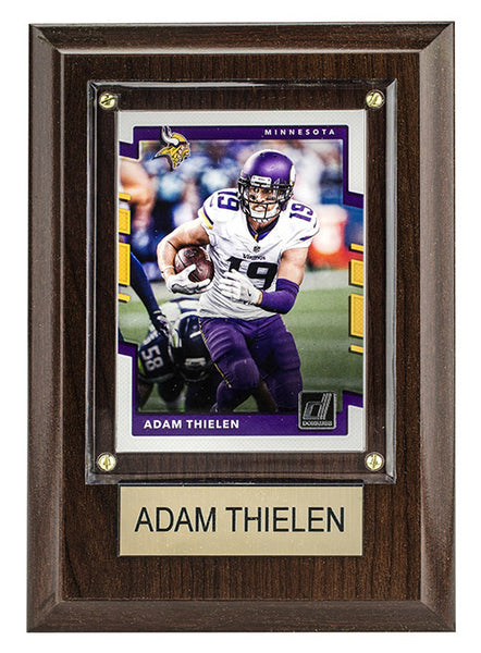 Vikings Adam Thielen Plaque