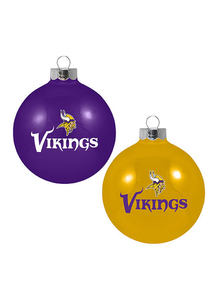 Vikings 2 Pack Ornament Gift Set