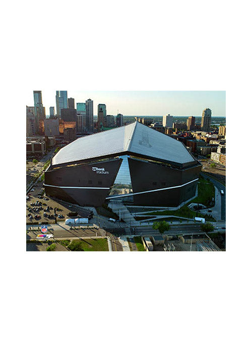 Vikings US Bank Stadium Post Card