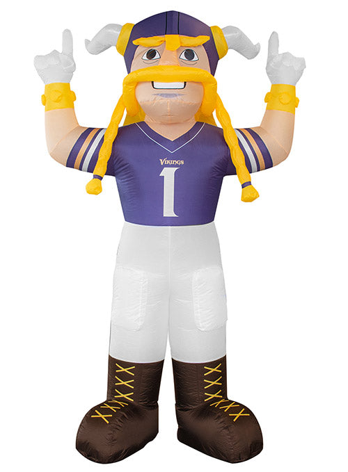 Vikings 7 Ft. Inflatable Viktor Mascot
