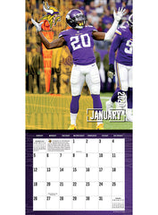 Vikings 2019/20 Team Wall Calendar
