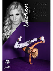 2019-20 Minnesota Vikings Cheerleaders Calendar