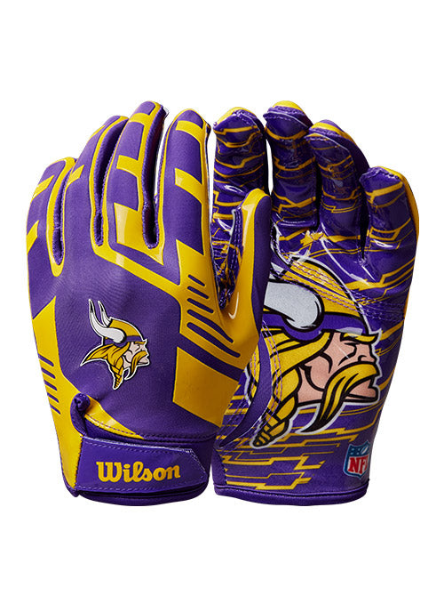 Vikings Stretch-Fit Receiver Gloves