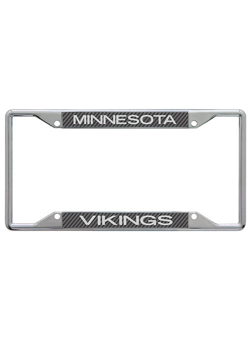 Vikings Carbon License Plate Frame
