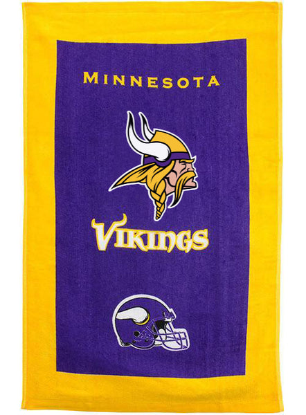 Minnesota Vikings Towel by KR Strikeforce