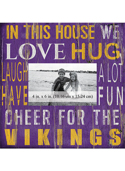 Vikings 10''x10'' In This House Frame