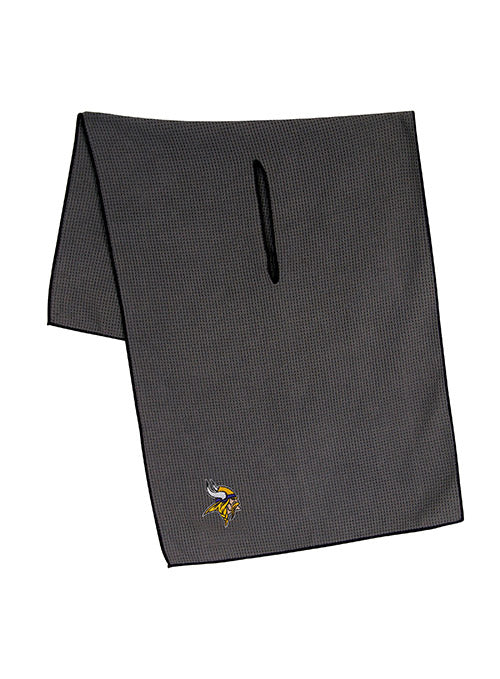 "Vikings 19"" x 41"" Grey Microfiber Towel"