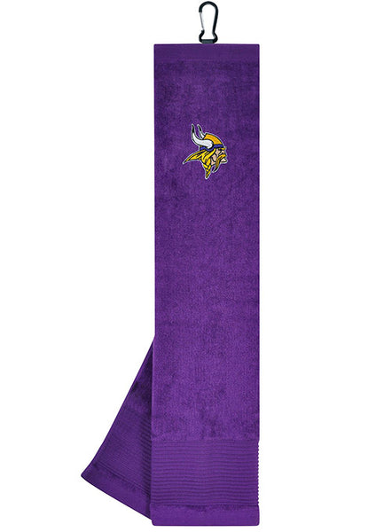 Vikings Tri-Fold Embroidered Towel
