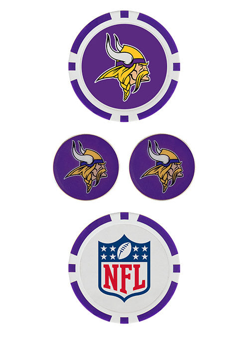 Vikings Ball Marker Set