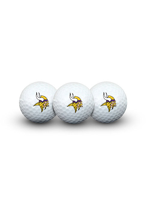 Vikings Golf Ball Pack of 3