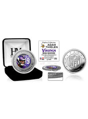 Adam Thielen Silver Color Coin