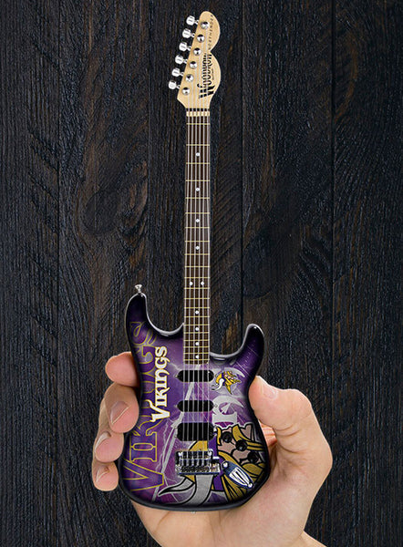 Minnesota Vikings Mini Guitar