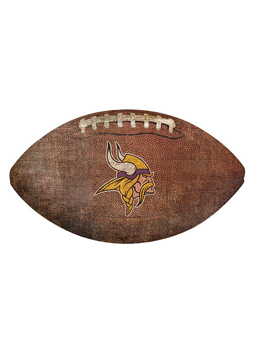 "Vikings 12"" Football Sign"