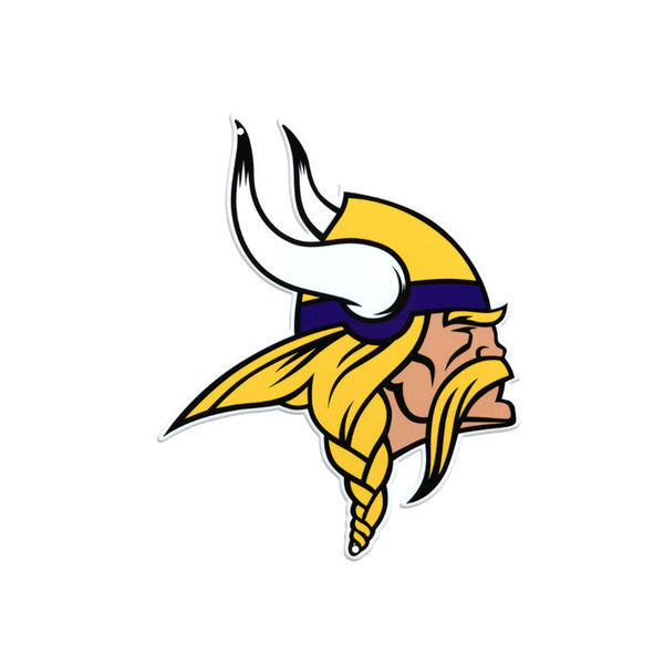 Minnesota Vikings Laser Cut Steel Logo Spirit Size