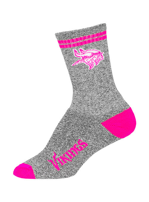 Vikings Youth Two Stripe Socks