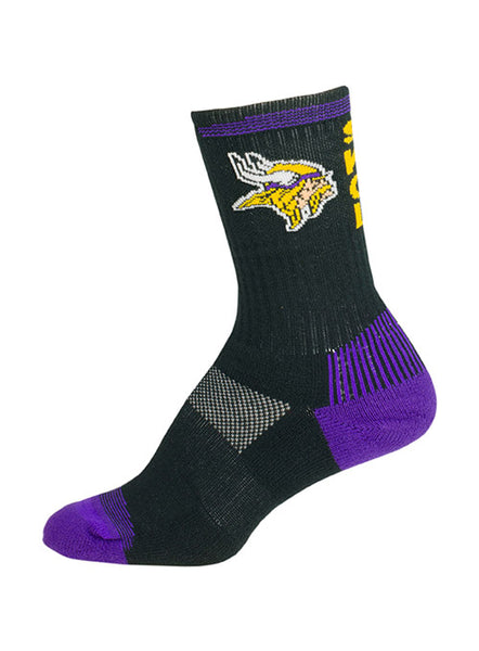 Vikings Youth Velocity Socks