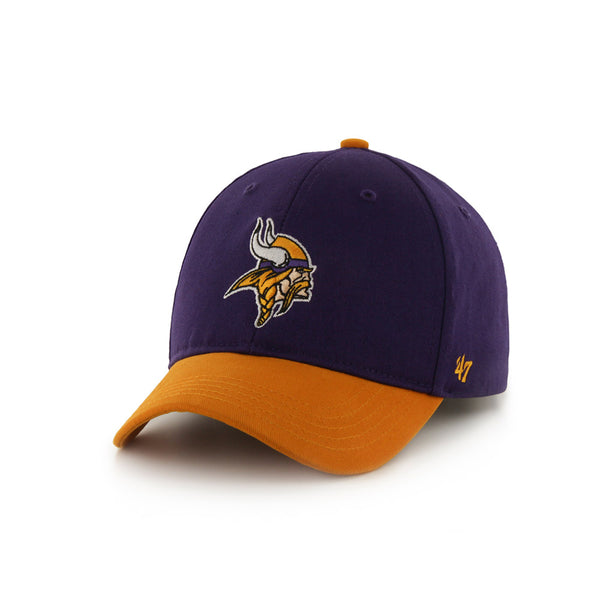 Vikings Youth 47 Brand Short Stack Hat