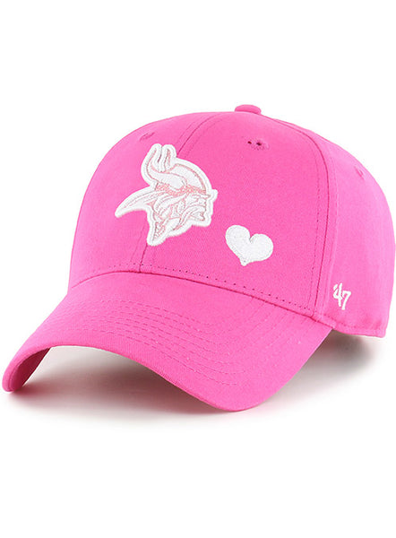 Vikings Girls '47 Brand Sugar Sweet MVP Hat