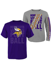 Youth Vikings T-Shirt Combo Pack