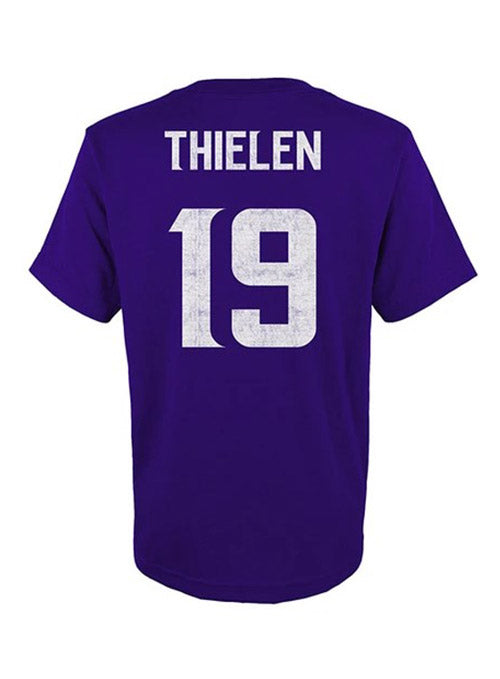 Boys Outerstuff Adam Thielen Name and Number T-Shirt