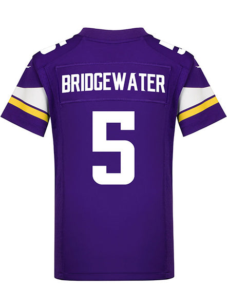 the latest a937a e256e Youth Nike Game Home Teddy Bridgewater Jersey | Sale Apparel | Vikings  Locker Room