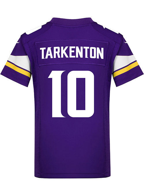 Youth Nike Game Home Fran Tarkenton Jersey