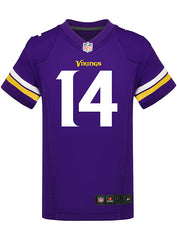 Youth Minnesota Vikings Stefon Diggs Nike Purple Game Jersey