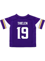 Toddler Minnesota Vikings Adam Thielen Nike Purple Game Jersey