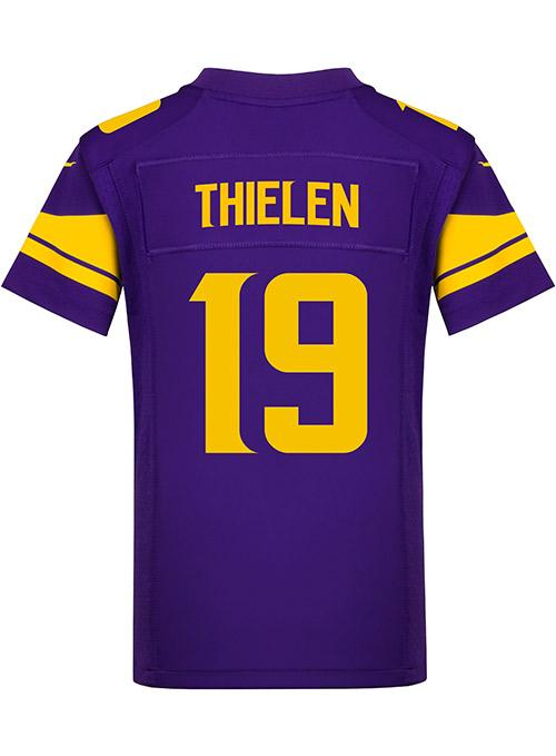 Youth Nike Game Primetime Purple Adam Thielen Jersey