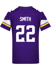 Youth Minnesota Vikings Harrison Smith Nike Purple Game Jersey
