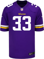 Men's Minnesota Vikings Dalvin Cook Nike Purple Game Jersey
