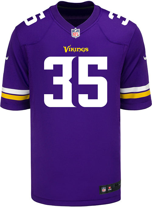 Men's Minnesota Vikings Marcus Sherels Nike Purple Game Jersey