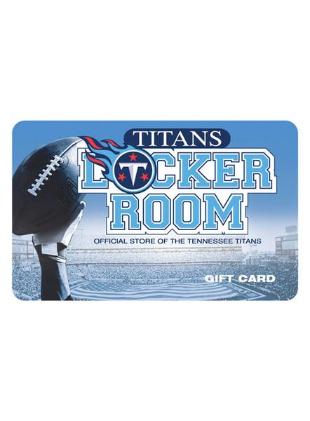 Titans Locker Room Gift Card