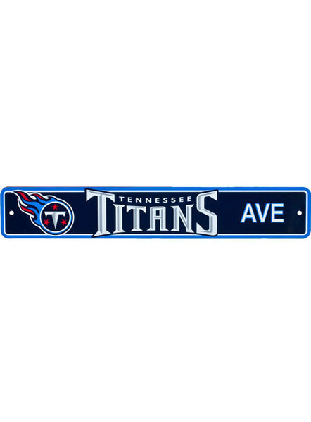 Titans Street Sign
